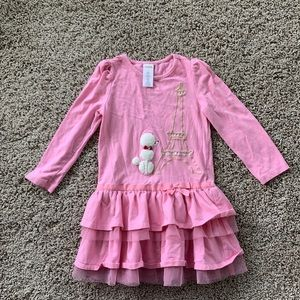 Girls Gymboree Poodle In Paris Dress
